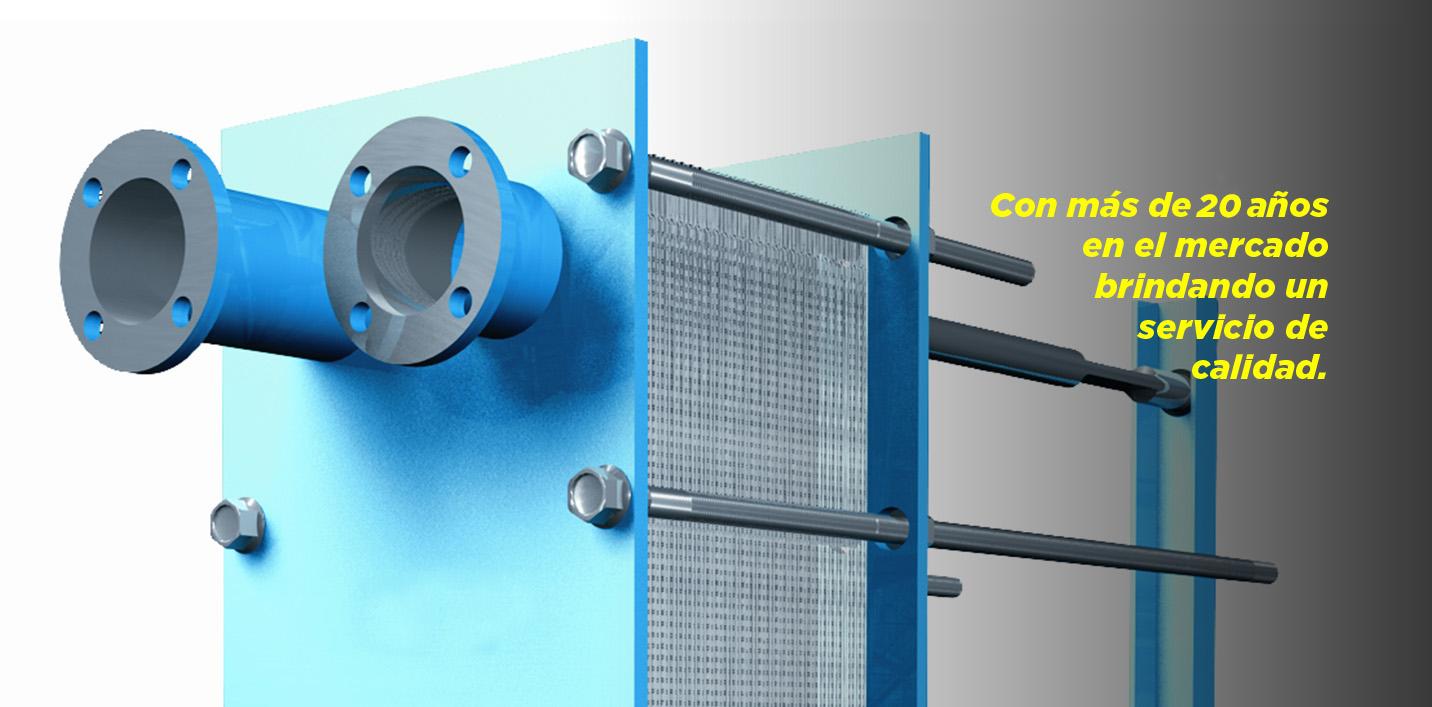 GIRESA experiencia en intercambiadores de calor de placas