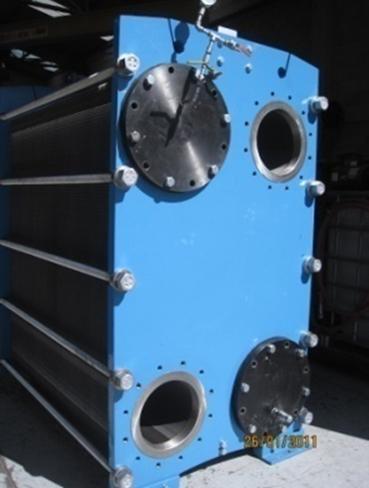 intercambiadores de calor de placas